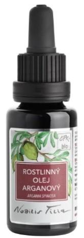 Nobilis Tilia BIO Arganový olej 20 ml (modré sklo)
