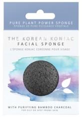 The Konjac Sponge Company Konjacová houbička s aktivním uhlím