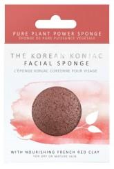 The Konjac Sponge Company Konjacová houbička s francouzským červeným jílem