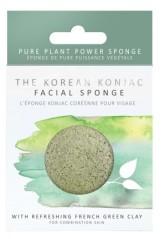 The Konjac Sponge Company Konjacová houbička s francouzským zeleným jílem