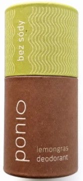 Ponio Lemongras - přírodní deodorant soda free