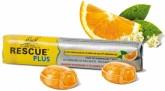 Dr. Bach Rescue® Plus bonbony (pomeranč a bezinka)