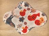 LalaH Denní menstruační vložka látková s PUL / zvířátka (22/23 cm)