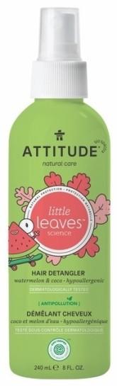 Attitude Sprej pro snadné rozčesávání dětských vlásků s vůní melounu a kokosu