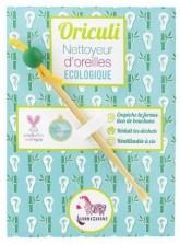 Lamazuna Oriculi zero waste bambusový čistič uší - zelený