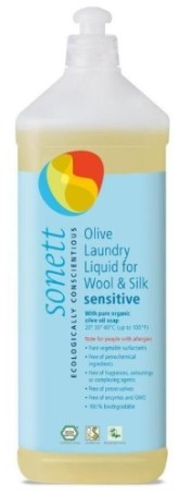 SONETT olivový prací gel na vlnu a hedvábí - Sensitive