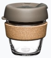 KeepCup Brew Cork LATTE hrnek, SiX