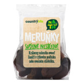 Meruňky sušené nesířené 100g   COUNTRYLIFE