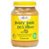 Příkrm broskev, banán 190g BIO   COUNTRYLIFE
