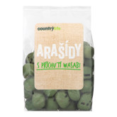 Arašídy s příchutí wasabi COUNTRY LIFE