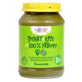 Příkrm špenát, rýže 190g BIO   COUNTRYLIFE