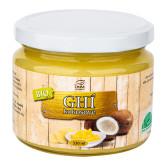 Přepuštěné máslo GHI kokosové 330 ml BIO   DNM COMPANY