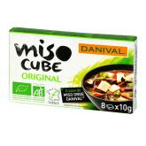 Polévka Miso kostky (8x10g) 80g BIO   DANIVAL