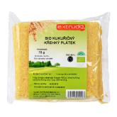 Chlebíček kukuřičný křupavý bezlepkový 75 g BIO   EXTRUDO