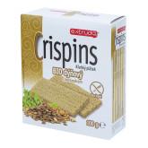 Chlebíček dýňový s koriandrem Crispins bezlepkový 100 g BIO EXTRUDO