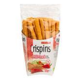 Tyčinka teffová s chilli Crispins bezlepková 50 g BIO   EXTRUDO