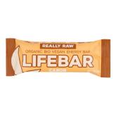 Tyčinka Lifebar karobová s lískovými ořechy 47 g BIO   LIFEFOOD