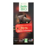 Čokoláda hořká 70% 100 g BIO  JARDIN BIO