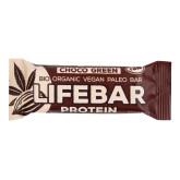Tyčinka Lifebar protein čokoládová 47 g BIO   LIFEFOOD