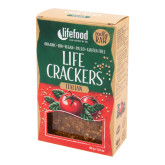 Life crackers italské 90 g BIO   LIFEFOOD