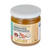 Krém z pražených mandlí a lískových ořechů 330g BIO   MONKI