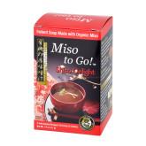 VÝPRODEJ!!!Polévka instantní Miso Shiso Delight Bold red (3x7g) 21g BIO   MUSO