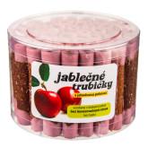Trubičky jablečné s jahodovým jogurtem dóza 450g   B. PRODUKT