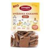 Zvířátka špaldová kakaová 100 g BIO   ZEMANKA