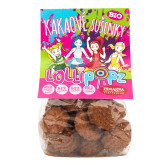 Sušenky kakaové Lollipopz 100 g BIO   ZEMANKA