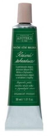 Havlíkova přírodní apotéka Krásná zahradnice - noční oční maska
