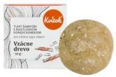 Kvitok Přírodní tuhý šampón s kondicionérem - Vzácné dřevo XXL
