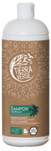 Kopřivový Šampon s vůní rozmarýnu a pomeranče TIERRA VERDE