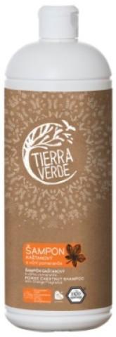 Tierra Verde Kaštanový Šampon s vůní pomeranče