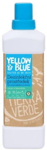 Yellow&Blue Dezinfekce na omyvatelné povrchy citron a levandule