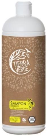 Tierra Verde Březový Šampon s vůní citronové trávy