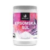 Allnature Epsomská sůl Levandule 1000 g