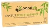 Pandoo Bambusový toaletní papír 3 vrstvý 200 útržků