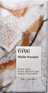 VIVANI  Bio bílá čokoláda křupavá