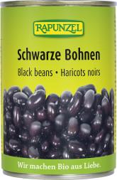 RAPUNZEL  Bio černé fazole sterilované
