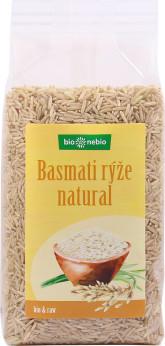 bio*nebio Rýže basmati natural BIO