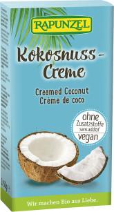 RAPUNZEL  Bio kokosový krém 2 x 50 g