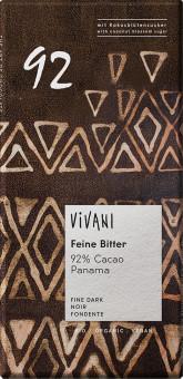 Hořká čokoláda 92% s kokosovým cukrem BIO VIVANI