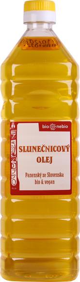 bio*nebio Slunečnicový olej lisovaný za studena BIO