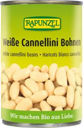 RAPUNZEL  Bio bílé fazole sterilované