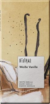 VIVANI  Bio bílá čokoláda s vanilkou