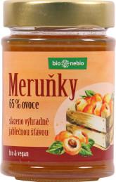 bio*nebio  Bio Meruňky - zavařenina s jablečnou šťávou