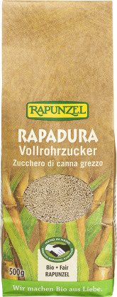 RAPUNZEL  Bio sušená třtinová šťáva RAPADURA