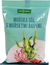 bio*nebio  Mořská sůl jodovaná mořskými řasami