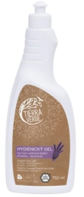 Hygienický gel na ruce levandule TIERRA VERDE