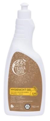 Hygienický gel na ruce citron TIERRA VERDE